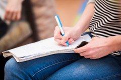 Machen Sie den Einstufungstest online
